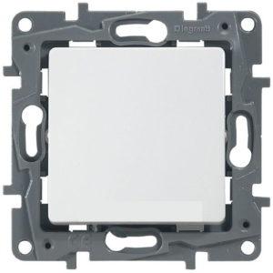 Выключатель/переключатель Legrand Etika 10A на зажимах белый