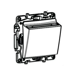 Выключатель с ключ-картой Legrand Etika антрацит