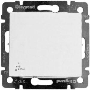 Выключатель Legrand Valena IP 44 10 AX 250 В белый