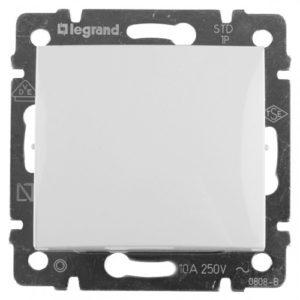 Переключатель Legrand Valena промежуточный IP 44 10 AX 250 В белый