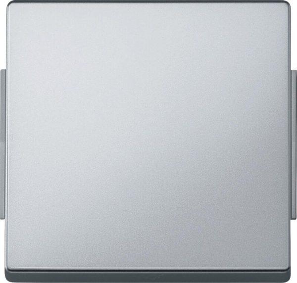 Выключатель одноклавишный перекрестный Merten D-life (вкл/выкл с 3-х мест) 10А/250В, нержавеющая сталь