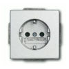 Розетка с заземляющими контактами с защитой от детей ABB 16А/250В