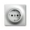 Розетка с заземлением с защитой от детей и пиктограммой ABB Impuls 16А/250В