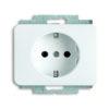 Розетка с заземляющими контактами с защитой от детей и пиктограммой ABB 16А/250В