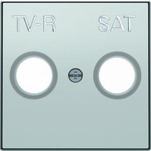 Розетка TV-R/SAT единственная ABB Sky, серебряный
