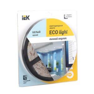 Лента LED 5м блистер LSR-3528W120-9.6-IP20-12V белый цвет ИЭК-eco