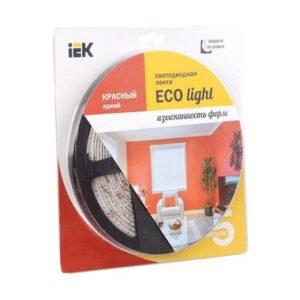 Лента LED 5м блистер LSR-3528R60-4.8-IP20-12V красный цвет ИЭК-eco