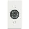 TV+SAT проходная розетка Axolute, 1 модуль