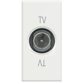 TV розетка оконечная Axolute, 1 модуль