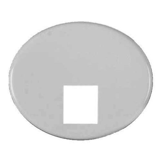 Телефонная розетка 4 контакта ABB Tacto (Белый)