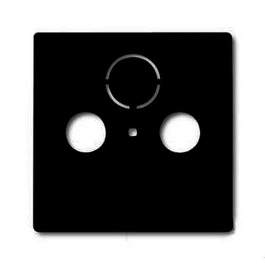 Розетка ТВ + радио оконечная ABB Basic 55, шато-черный