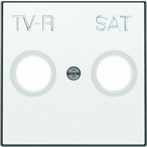 Розетка TV-R единственная ABB Sky, белый