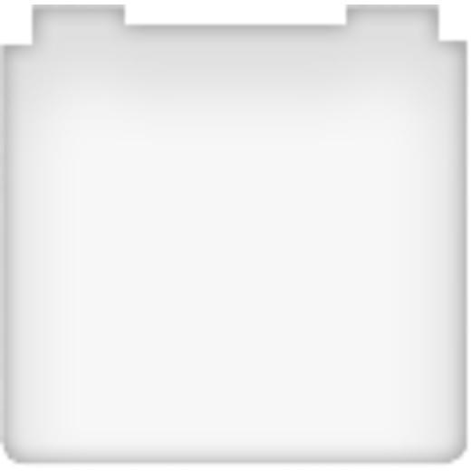 Розетка с заземлением с крышкой влагозащищенная Fede 10-16А/250В IP44 (белый)