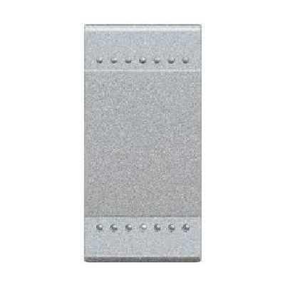 Кнопочный выключатель с подсветкой (цвет янтарный) LivingLight 16 А 250 В~ 1 модуль