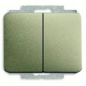 Выключатель двухклавишный ABB 10А/250В