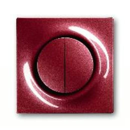 Выключатель двухклавишный проходной с подсветкой ABB Impuls ( вкл/выкл с 2-х мест) 10А/250В