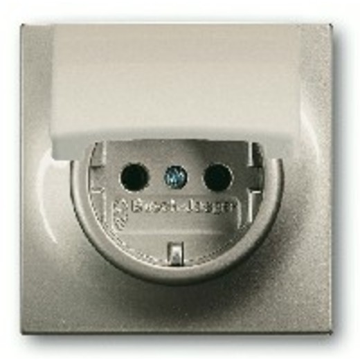 Розетка с заземлением и откидной крышкой ABB Impuls 16А/250В