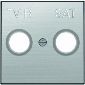 Розетка TV-R/SAT единственная ABB Sky, нержавеющая сталь