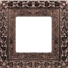 Рамка на 1 пост, Fede SAN SEBASTIAN, цвет rustic cooper