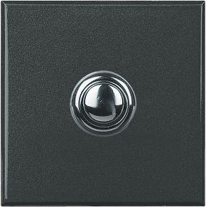 Кнопочный выключатель Axolute 16 А 250 В~, дизайн STYLE, 2 модуля