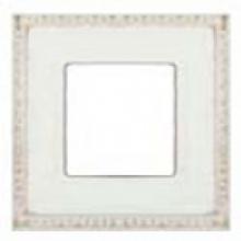 Рамка на 1 пост, Fede Sevilla PROVENCE, цвет white decape