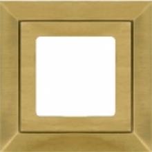 Рамка на 1 пост, Fede BARCELONA, цвет matt patina