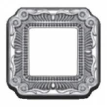 Рамка 1-ая, серия Fede TOSCANA FIRENZE, цвет Bright chrome