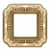 Рамка 1-ая, серия Fede TOSCANA FIRENZE, цвет Bright gold