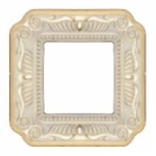 Рамка 1-ая, серия Fede TOSCANA FIRENZE, цвет Gold White patina