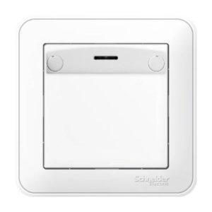 Выключатель карточный без задержки отключения Schneider Electric W59 в сборе, цвет белый