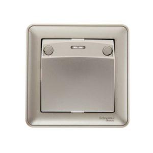 Выключатель карточный без задержки отключения Schneider Electric W59 в сборе, цвет шампань