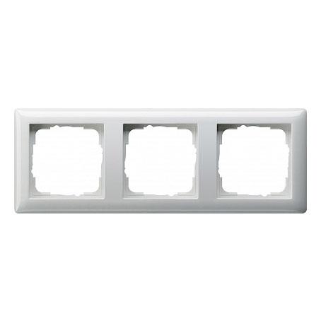 Gira Standard Бел глянц Рамка 3-ая