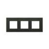 ABB NIE Zenit Антрацит Рамка 3-я 2+2+2 мод