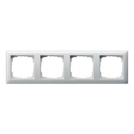 Gira Standard Бел глянц Рамка 4-ая