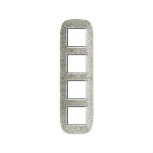 BT Axolute Corian Dusk Рамка 2+2+2+2 мод эллипс