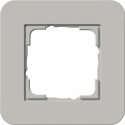 Gira серия E3 Серый/белый глянцевый Рамка 1-ая