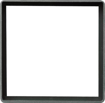 Gira E22 Сталь Промежуточная рамка с квадратным отверстием 55x55 мм