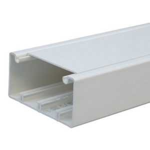Legrand Кабель-канал DLP 50x105 1 секция 1 крышка 65 мм длина 2 м белый