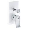 Смеситель для ванны и душа WasserKRAFT Aller 10641 WHITE