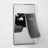 Встраиваемый комплект для биде со шлангом 120 см WasserKRAFT A010657 17925