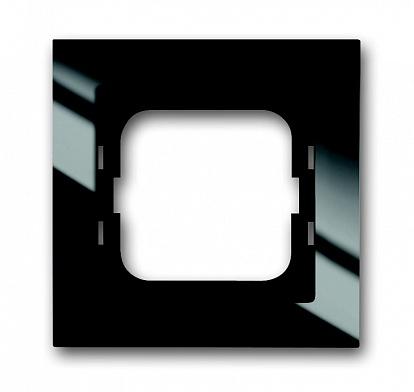 ABB Axcent Рамка 1-постовая, для монтажа заподлицо, axcent, черный