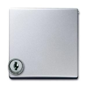 ABB Allwetter 44 Плата центральная для серий и Reflex SI, с индивидуальным зам., IP44, Allwette 44, серебристый алюминий