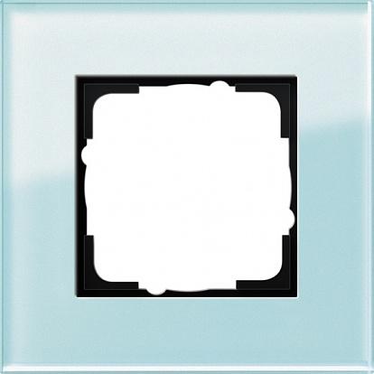 Gira ESP Салатовое Стекло Рамка 1-ая