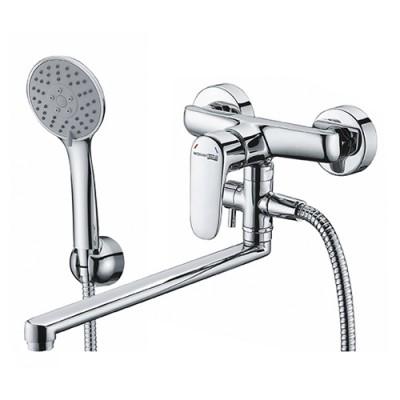Смеситель для ванны с длинным поворотным изливом WasserKRAFT Vils 5602L