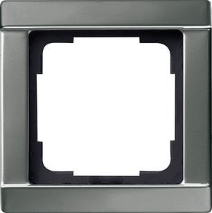 Gira Сталь Рамка 1-ая со скосами