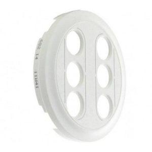 Legrand Лицевая панель двойной RCA розетки белый