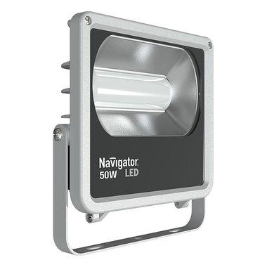 Светодиодный прожектор 50 Вт Navigator NFL-M-50-4K-IP65-LED