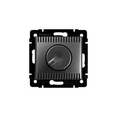 Legrand  Поворотный светорегулятор -Valena 100-1000 Вт/1000 ВА алюминий