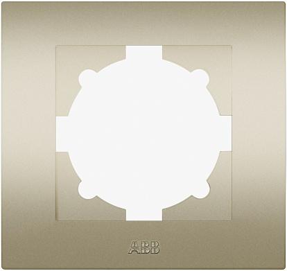 ABB Cosmo Титаниум Рамка 1 постовая