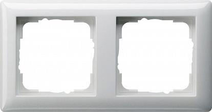 Gira Standard Бел глянц Рамка 2-ая